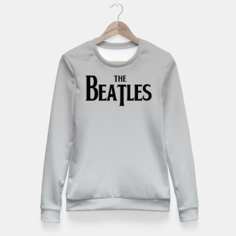 Thumbnail image of Beatles Grey Woman cotton sweater, Live Heroes