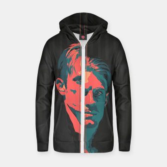 Thumbnail image of Altered Carbon Cotton zip up hoodie, Live Heroes