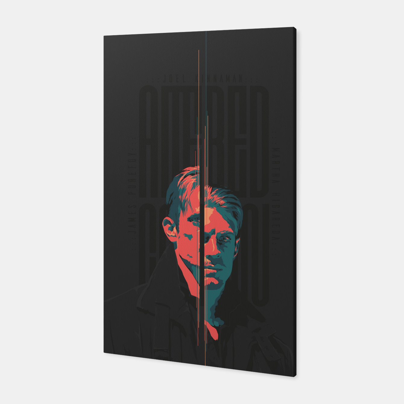 Image of Altered Carbon Canvas - Live Heroes