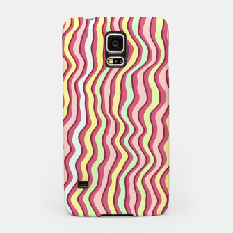 Thumbnail image of Bright colorful stripes Samsung Case, Live Heroes