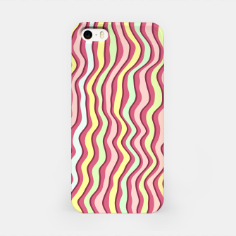 Thumbnail image of Bright colorful stripes iPhone Case, Live Heroes