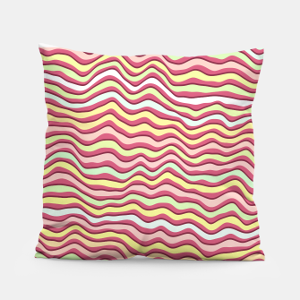 Thumbnail image of Bright colorful stripes Pillow, Live Heroes