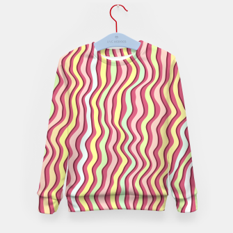 Thumbnail image of Bright colorful stripes Kid's sweater, Live Heroes
