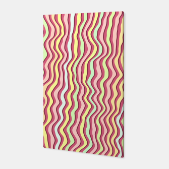 Thumbnail image of Bright colorful stripes Canvas, Live Heroes