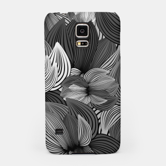 Thumbnail image of Grey Big Flowers Samsung Case, Live Heroes