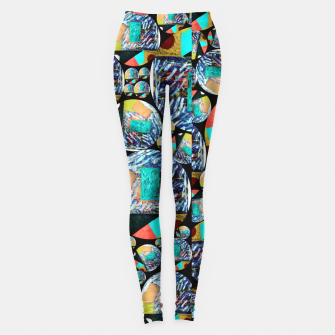 Miniaturka outer space Rush Ambition  Leggings, Live Heroes