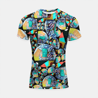 Thumbnail image of outer space Rush Ambition  Shortsleeve rashguard, Live Heroes
