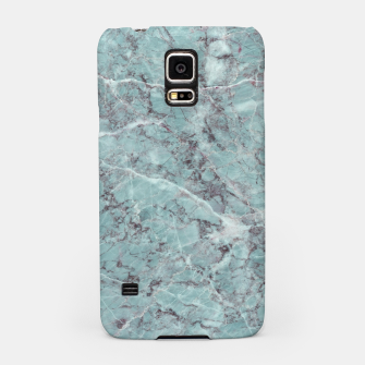 Thumbnail image of Teal Marble Texture Samsung Case, Live Heroes