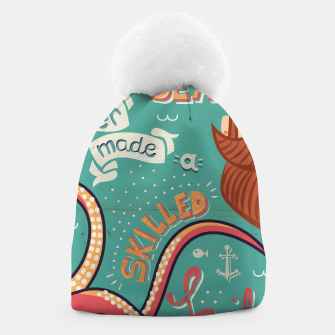 Thumbnail image of A Smooth Sea Never Made A Skilled Sailor, illustration Beanie, Live Heroes