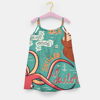Thumbnail image of A Smooth Sea Never Made A Skilled Sailor, illustration Girl's dress, Live Heroes
