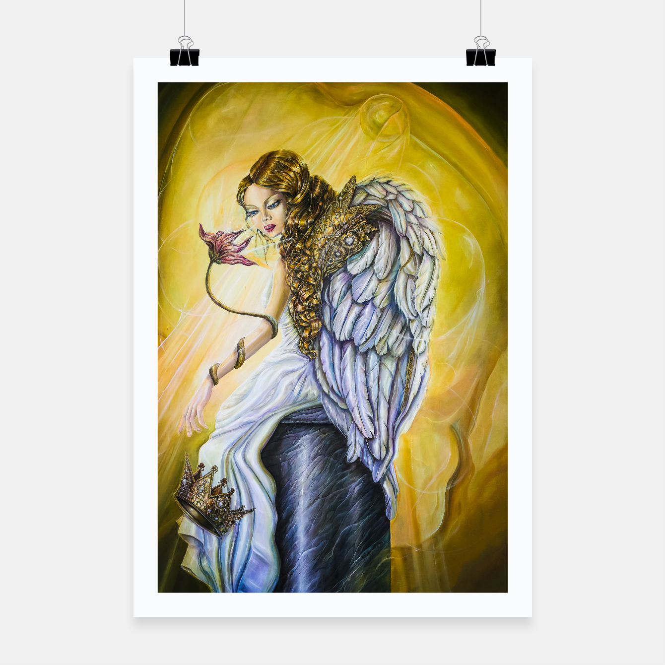 Image of Angel of Repentance Poster - Live Heroes
