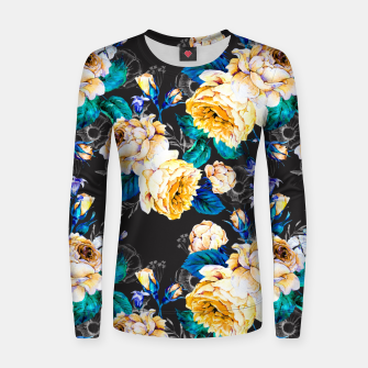 Thumbnail image of Flourishing in the night Sudadera de algodón para mujer, Live Heroes