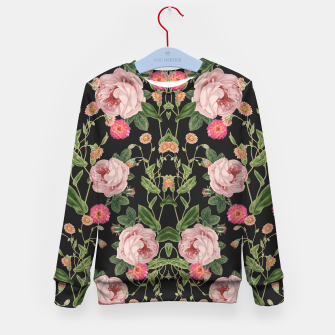Thumbnail image of Floral Tunes Kid's sweater, Live Heroes