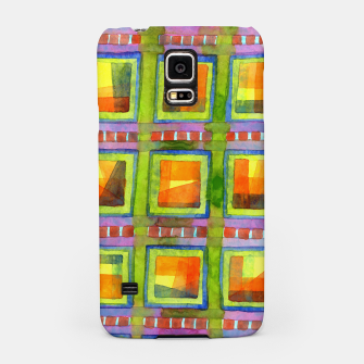 Thumbnail image of Light behind colorful geometric Windows  Samsung Case, Live Heroes