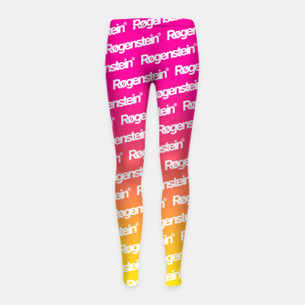 Thumbnail image of Røgenstein® - Kid´s Leggings, Live Heroes
