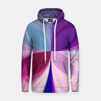 Thumbnail image of Pinkish delight Cotton hoodie, Live Heroes