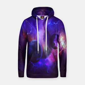 Thumbnail image of Planetary wings  Cotton hoodie, Live Heroes