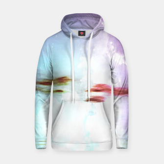 Thumbnail image of Pastel moon  Cotton hoodie, Live Heroes