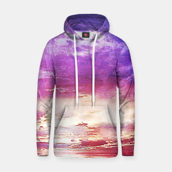 Thumbnail image of Sunset skies Cotton hoodie, Live Heroes