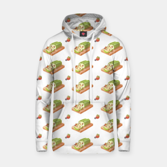 Thumbnail image of Matcha Cake Roll Cotton hoodie, Live Heroes