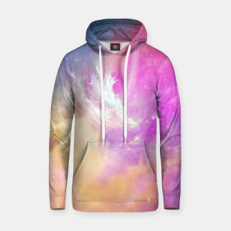 Thumbnail image of Galactic waves Cotton hoodie, Live Heroes