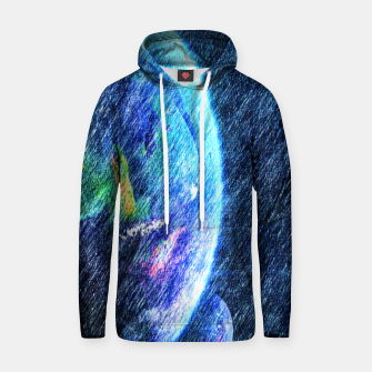 Far out there  Cotton hoodie thumbnail image