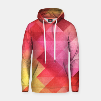 Thumbnail image of Fall pattern Cotton hoodie, Live Heroes