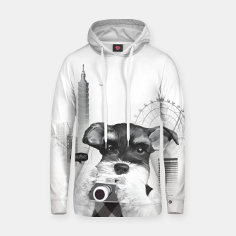 Schnauzer with Camera  Hoodie thumbnail image
