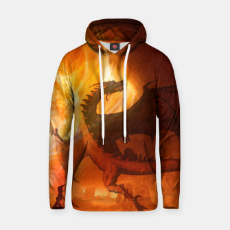 Thumbnail image of Dragon's world Cotton hoodie, Live Heroes