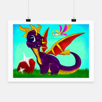 Thumbnail image of Classic Spyro the Dragon Poster, Live Heroes