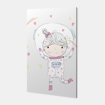 Thumbnail image of Mi pequeña astronauta Canvas, Live Heroes