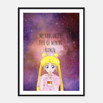 Sailor Moon Ramen 3 Framed poster thumbnail image