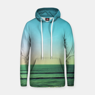 Thumbnail image of Winter blues Cotton hoodie, Live Heroes