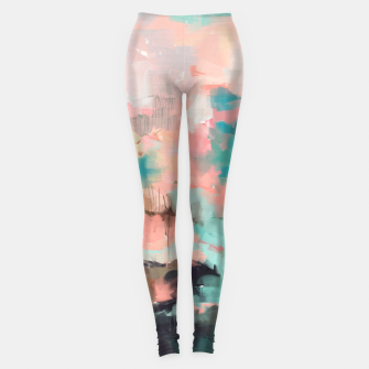 Miniature de image de Abstract art of strokes Leggings, Live Heroes