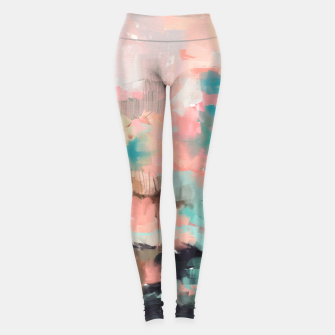 Miniatur Abstract art of strokes Leggings, Live Heroes