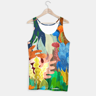 Thumbnail image of Night Forest Tank Top, Live Heroes