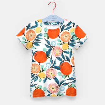 Thumbnail image of Fruit Shower Kid's t-shirt, Live Heroes