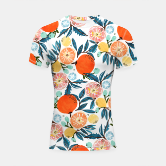 Thumbnail image of Fruit Shower Shortsleeve rashguard, Live Heroes