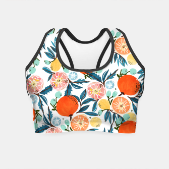Thumbnail image of Fruit Shower Crop Top, Live Heroes