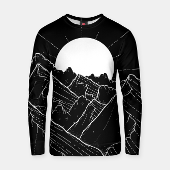 Thumbnail image of The bright white moon rises Cotton sweater, Live Heroes