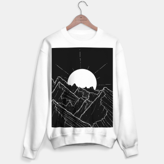 Thumbnail image of The bright white moon rises Sweater regular, Live Heroes