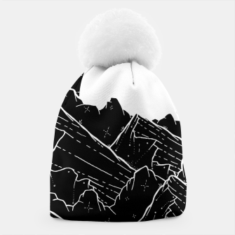 Thumbnail image of The bright white moon rises Beanie, Live Heroes