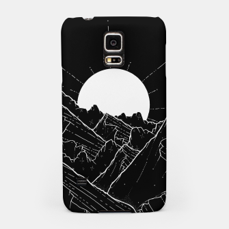Thumbnail image of The bright white moon rises Samsung Case, Live Heroes