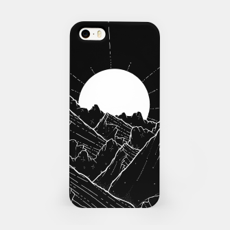 Thumbnail image of The bright white moon rises iPhone Case, Live Heroes