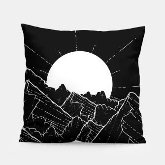 Thumbnail image of The bright white moon rises Pillow, Live Heroes