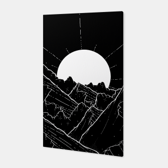 Thumbnail image of The bright white moon rises Canvas, Live Heroes