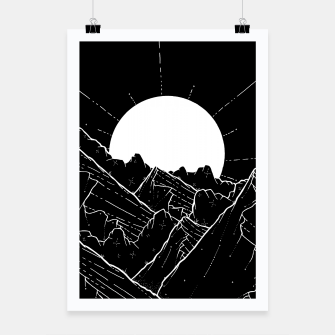 Thumbnail image of The bright white moon rises Poster, Live Heroes
