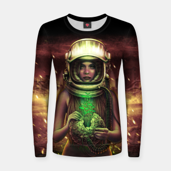 Thumbnail image of Winya No. 135 Woman cotton sweater, Live Heroes
