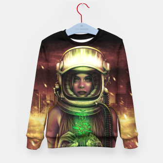Thumbnail image of Winya No. 135 Kid's sweater, Live Heroes