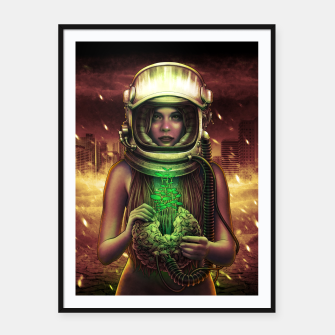 Thumbnail image of Winya No. 135 Framed poster, Live Heroes